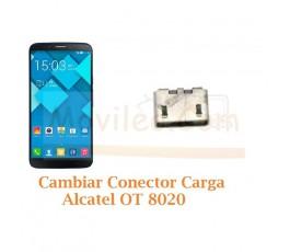 Cambiar Conector Carga Alcatel Hero OT8020 OT-8020 - Imagen 1