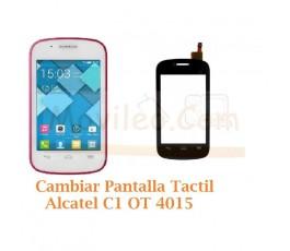 Cambiar Pantalla Tactil Alcatel C1 OT4015 OT-4015 - Imagen 1