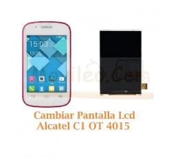 Cambiar Pantalla Lcd Alcatel C1 OT4015 OT-4015 - Imagen 1