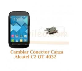 Cambiar Conector Carga Alcatel C2 OT4032 OT-4032 - Imagen 1