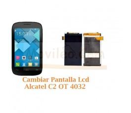 Cambiar Pantalla Lcd Alcatel C2 OT4032 OT-4032 - Imagen 1
