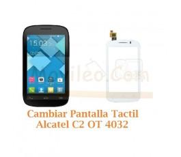 Cambiar Pantalla Tactil Alcatel C2 OT4032 OT-4032 - Imagen 1