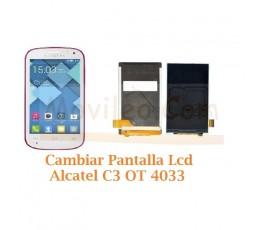 Cambiar Pantalla Lcd Alcatel C3 OT4033 OT-4033 - Imagen 1