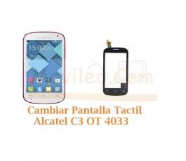 Cambiar Pantalla Tactil Alcatel C3 OT4033 OT-4033 - Imagen 1