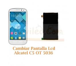 Cambiar Pantalla Lcd Alcatel C5 OT5036 OT-5036 - Imagen 1
