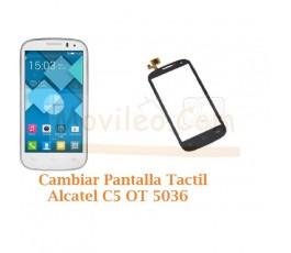Cambiar Pantalla Tactil Alcatel C5 OT5036 OT-5036 - Imagen 1
