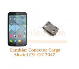 Cambiar Conector Carga Alcatel C9 OT7047 OT-7047 - Imagen 1