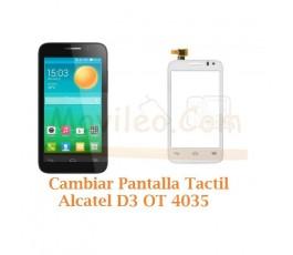 Cambiar Pantalla Tactil Alcatel D3 OT4035 OT-4035 - Imagen 1