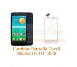 Cambiar Pantalla Tactil Alcatel D5 OT5038 OT-5038 - Imagen 1