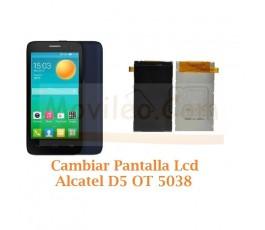 Cambiar Pantalla Lcd Alcatel D5 OT5038 OT-5038 - Imagen 1