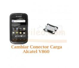 Cambiar Conector Carga Alcatel V860 - Imagen 1