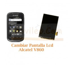 Cambiar Pantalla Lcd Alcatel V860 - Imagen 1