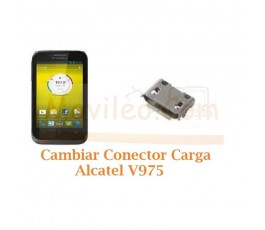 Cambiar Conector Carga Alcatel V975 - Imagen 1