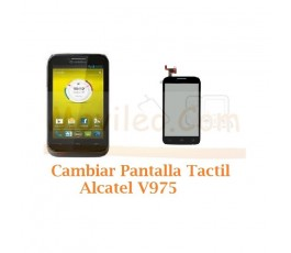 Cambiar Pantalla Tactil Alcatel V975 - Imagen 1