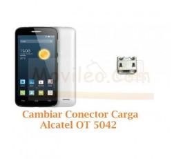 Cambiar Conector Carga Alcatel OT5042 OT-5042 Orange Roya - Imagen 1