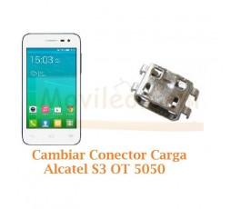 Cambiar Conector Carga Alcatel S3 OT-5050 OT5050 - Imagen 1