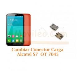 Cambiar Conector Carga Alcatel S7 OT-7045 OT7045 - Imagen 1
