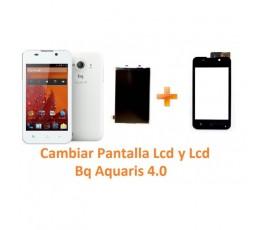 Cambiar Pantalla Táctil y Lcd Bq Aquaris 4.0 - Imagen 1