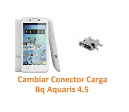 Cambiar Conector Carga Bq Aquaris 4.5 - Imagen 1