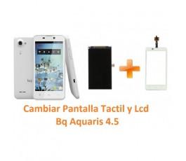 Cambiar Pantalla Táctil y Lcd Bq Aquaris 4.5 - Imagen 1