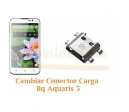 Cambiar Conector Carga Bq Aquaris 5 - Imagen 1