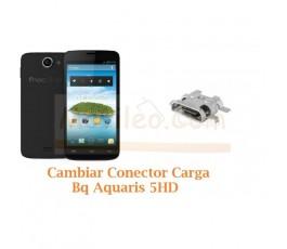 Cambiar Conector Carga Bq Aquaris 5 HD - Imagen 1