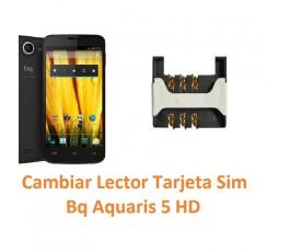 Cambiar Lector Tarjeta Sim Bq Aquaris 5 HD - Imagen 1