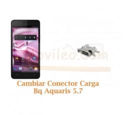 Cambiar Conector Carga Bq Aquaris 5.7 - Imagen 1
