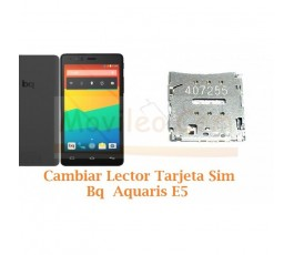 Cambiar Lector Tarjeta Sim Bq Aquaris E5 - Imagen 1