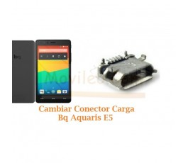Cambiar Conector Carga Bq Aquaris E5 HD - Imagen 1