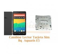 Cambiar Lector Tarjeta Sim Bq Aquaris E5 4G - Imagen 1