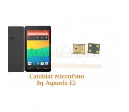 Cambiar Microfono Bq Aquaris E5 4G - Imagen 1