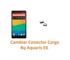 Cambiar Conector Carga Bq Aquaris E6 - Imagen 1