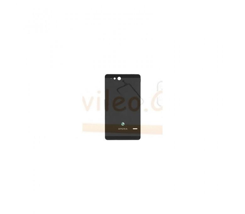 Tapa Trasera Negra para Sony Xperia Go, St27, St27i - Imagen 1