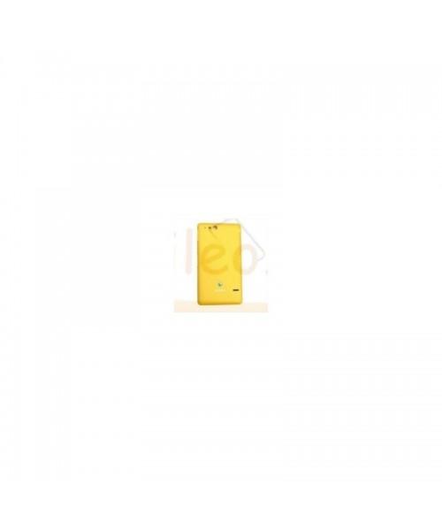 Tapa Trasera Amarilla para Sony Xperia Go, St27, St27i - Imagen 1