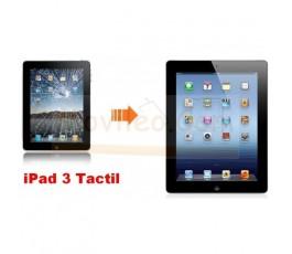 Cambiar Pantalla Tactil(cristal) iPad-3 y iPad-4 Negro - Imagen 1