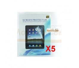 Pack 5 Protectores de Pantalla Transparente iPad-3 - Imagen 1
