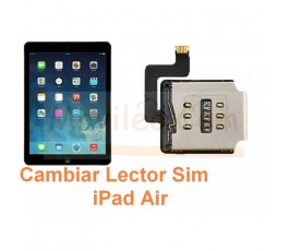 Cambiar Lector Sim iPad Air - Imagen 1