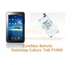 Cambiar Bateria Samsung Tab P1000 - Imagen 1