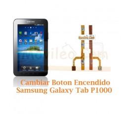 Cambiar Boton Encendido Samsung Tab P1000 - Imagen 1