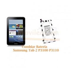 Cambiar Bateria Samsung Tab 2 P3100 P3110 - Imagen 1