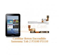 Cambiar Boton Encendido Samsung Tab 2 P3100 P3110 - Imagen 1