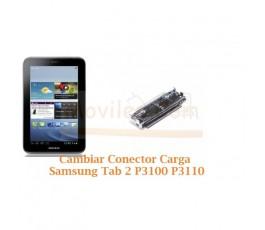 Cambiar Conector Carga Samsung Tab 2 P3100 P3110 - Imagen 1