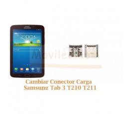 Cambiar Conector Carga Samsung Tab 3 T210 T211 - Imagen 1