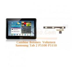 Cambiar Botones Volumen Samsung Tab 2 P5100 P5110 - Imagen 1