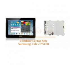 Cambiar Lector Tarjeta Sim Samsung Tab 2 P5100 P5110 - Imagen 1