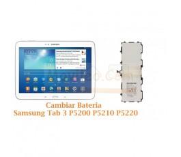 Cambiar Bateria Samsung Tab 3 P5200 P5210 P5220 - Imagen 1