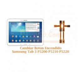 Cambiar Boton Encendido Samsung Tab 3 P5200 P5210 P5220 - Imagen 1
