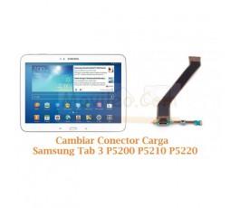 Cambiar Conector Carga Samsung Tab 3 P5200 P5210 P5220 - Imagen 1