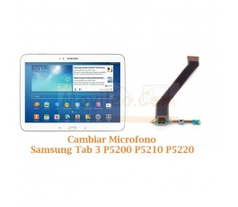 Cambiar Microfono Samsung Tab 3 P5200 P5210 P5220 - Imagen 1
